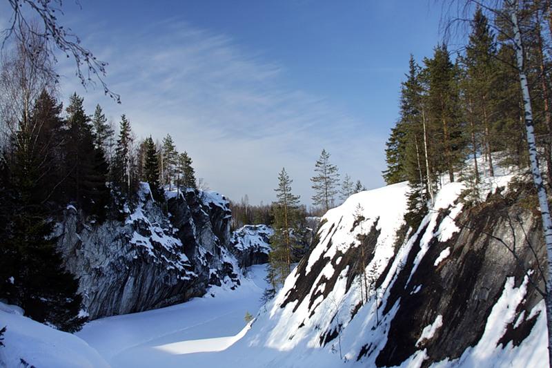 1-2 мая 2013, Рускеальский мраморный каньон со спуском в Провал
