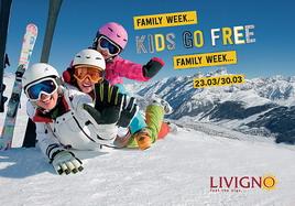 23 - 30 марта 2019 Семейная неделя Ливиньё Италия