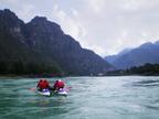 Шавлинские озера и ледник Маашей
