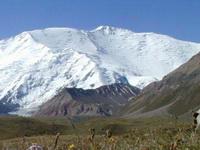 пик Ленина (Высота: 7134 м)