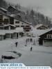 Валь д\'Изер в снегу.