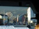 Инсбрук  из окна автобуса