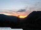 Закат на Алтае.