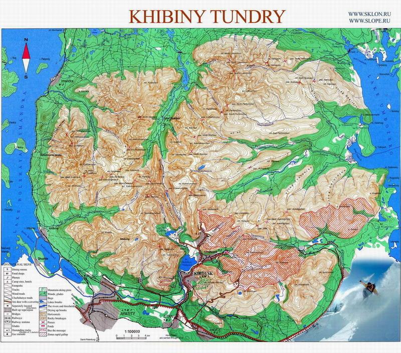 Khibiny mountains at Kola Peninsular